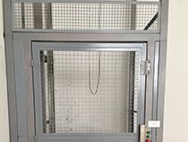 Elevador de carga com estrutura e fechamento - 16