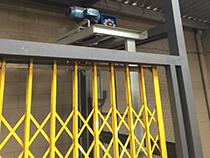Elevador de carga com estrutura e fechamento - 6