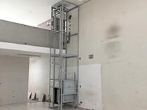 Elevador monta prato com estrutura alto portante - 4