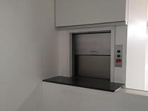 Elevador monta prato com estrutura sem fechamento - 3